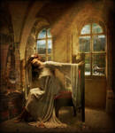 The Lady of Shalott by RottenRagamuffin