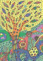 Eye Tree by fesleen