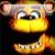 Five Nights At Freddys Goldenfreddy Icon by rtm516