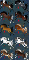 OPEN- Horse Adoptables (Batch 1) by Russian-Grassland