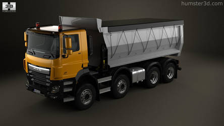 DAF CF Tipper Truck by humster3d