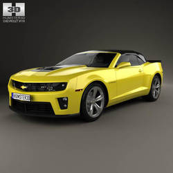 Chevrolet Camaro ZL1 by humster3d