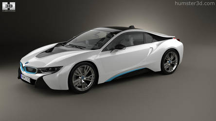 BMW i8 by humster3d