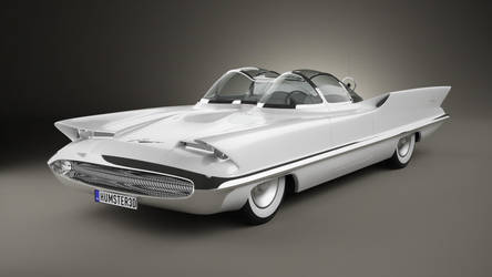 Lincoln Futura by humster3d