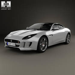 Jaguar F-Type R coupe by humster3d