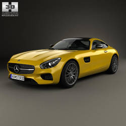 Mercedes-Benz AMG GT by humster3d
