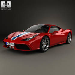 Ferrari 458 Speciale by humster3d