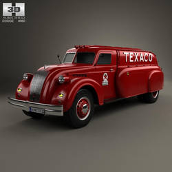 Dodge Airflow Tank Truck by humster3d