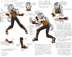 Alma the Metalmorph by Doodlebotbop