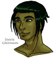 Dante Greenman by Doodlebotbop