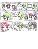 Comic - See-hear-speak no evil by Doodlebotbop