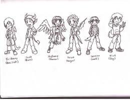 Beast Friends by Doodlebotbop