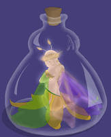 Fairy in a Bottle - Colors by gusdefrog