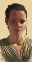 Rey by Polinhahart