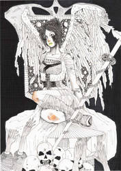 Fallen angels' queen by Tifaerith