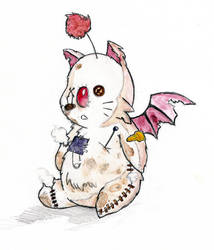 Fluffy Mog color by Tifaerith