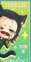 :Loki:I'm Wendy by PrinceOfRedroses