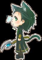 :Loki: Nyako N' Butterfly by PrinceOfRedroses