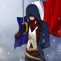 :AC: doodle Arno Dorian by PrinceOfRedroses
