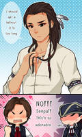 :AC: Long hair senpai by PrinceOfRedroses