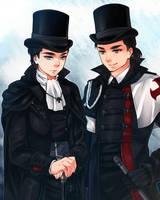 :AC: Shaytham/ Victorian Templar by PrinceOfRedroses