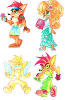 Crash Peeps by Strixic