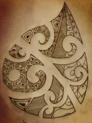 Polynesian comma by A18cey