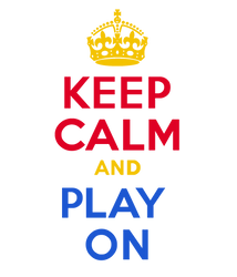 KEEP CALM and PLAY ON by Scrabblicious