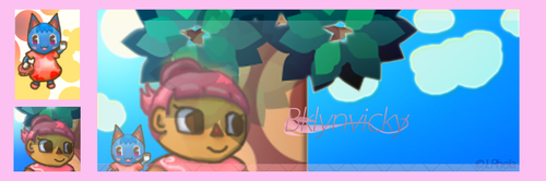 Animal Crossing Sig and Avatar Pack -Request- by LPhela