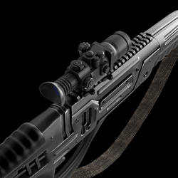 Sniper rifle sci-fi_1 by viiik33