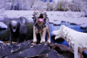 New Wolf Figurine! by MiniMynagerie