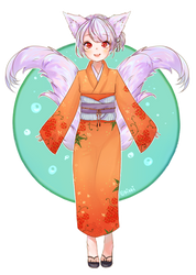 [R] KitsuneYin by kikkidream
