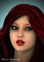 Chrissy -- Portrait by donnaDomenitzo