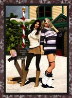 Happy Holidays by donnaDomenitzo