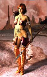 Huntress of Mars by donnaDomenitzo