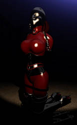 Perfect Rubber by donnaDomenitzo
