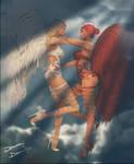 Pretty Lil Angels by donnaDomenitzo