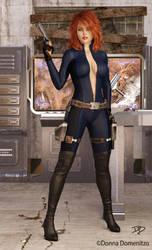 J, Agent of S.H.I.E.L.D. by donnaDomenitzo