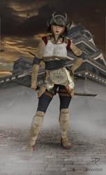 Samurai 2 by donnaDomenitzo