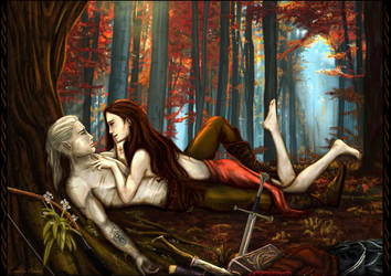 Autumn`s Surrender by LinestyleArtwork