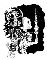 Dark Helmet by ANDYTAYLOR-GARBAGE