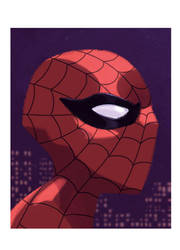 Spider-Man by ANDYTAYLOR-GARBAGE