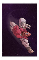 Allen the Alien by ANDYTAYLOR-GARBAGE