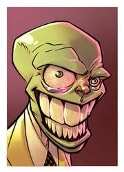 The Mask by ANDYTAYLOR-GARBAGE