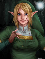 Female Link by Anadia-Chan