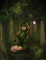 Saria's Secret Place by Anadia-Chan