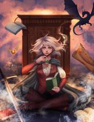 Book Magic by Anadia-Chan