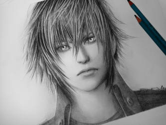 Noctis Sketch by Anadia-Chan