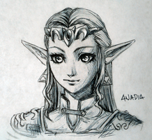Day #10: Zelda by Anadia-Chan
