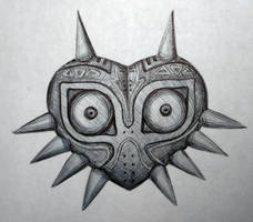 Day #14: Majora's Mask by Anadia-Chan